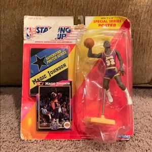 Magic Johnson Starting Line Up figure